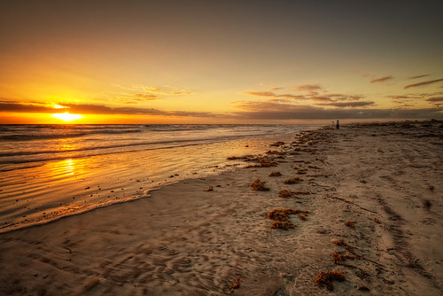 seascape beach sunrise florida staugustine