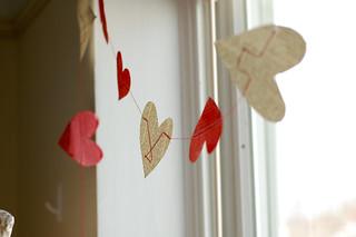 DIY Heart Garland | by Stacie Stacie Stacie