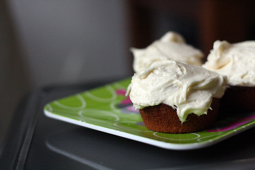 Cupcakes with boiled milk frosting   by eselcee
