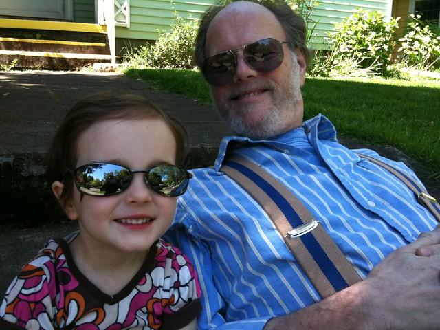 Zoe and Grandpa