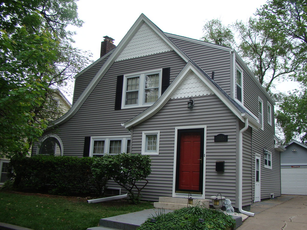After Picture With Victorian Grey Siding Nebraskaland