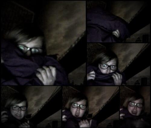 Quand je regarde un film d'horreur, ça donne tout le temps ça.