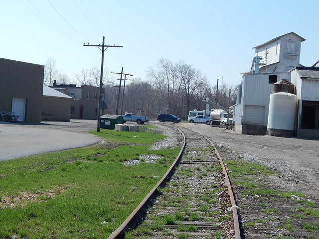Elkhart and Western ROW at Rochester Indiana