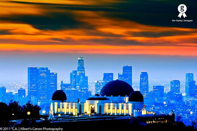 Fire in the LA Sky