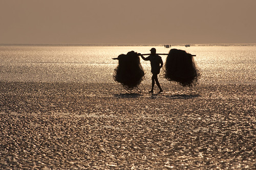 The Fisherman at Chandipur beach | by Tapas Biswas