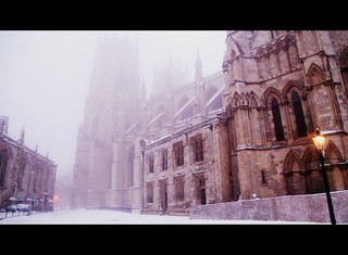York Minster in the snow | by Helen_of_Troy
