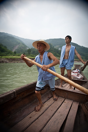 Shennong Stream boatmen | by retrotraveller