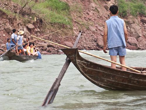 Sampans on the Shennong Stream | by retrotraveller