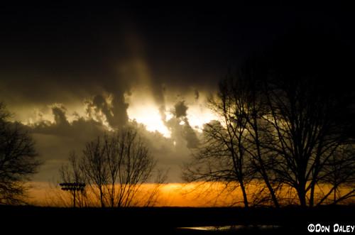 storm rain clouds sunrise thunder hiramcollege hiramoh