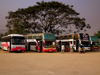 LUANG PRABANG BUS STATION LAOS FEB 2012 | by STEPHEN J MASON PHOTOGRAPHY