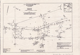 Trevu House Re-subdivision Plan 1982 | by Gawler History