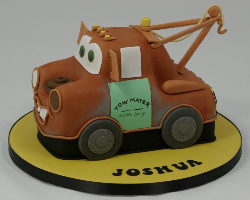 Marvelous Tow Mater Birthday Cake Jane H Flickr Funny Birthday Cards Online Benoljebrpdamsfinfo