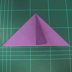 การพับกระดาษเป็นฐานนกอินทรี (Origami Eagle) 009