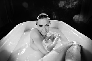 Kim 'In The Tub' | by TJ Scott