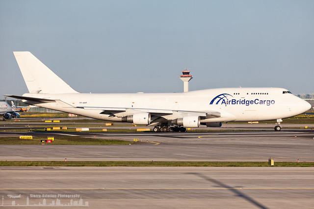 TF-AMF Air Bridge Cargo Boeing 747-400 BCF