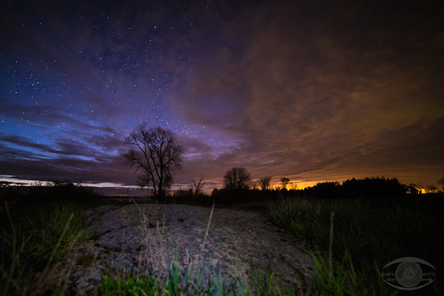 sunset sky ontario stars landscape nightscape space kingston