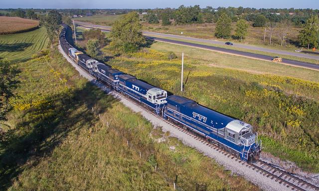 TTI 5815 (GE U36B) Millersburg, Kentucky