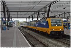 NSR 186 117 + 16509 | Rotterdam Centraal Station | 04-05-2016