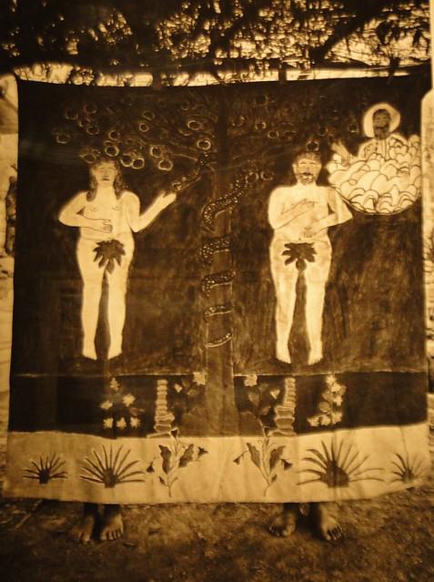 Adán y Eva. Museo de las Culturas. Oaxaca.