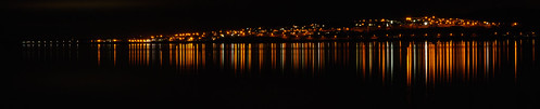 Panorama of Tayport reflected in the River Tay | by gordon.milligan