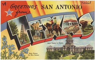 Greetings from San Antonio, Texas | by Boston Public Library