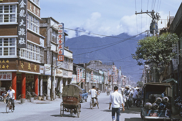 downtown Hualien 1969