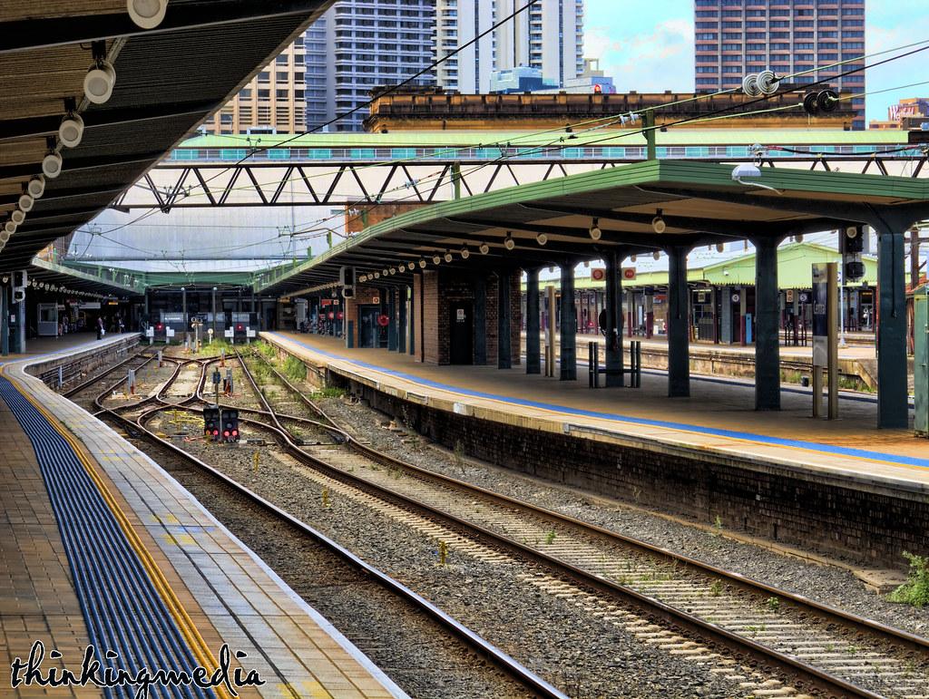 Central Railway Station Platform No.1/2 by Governor Macquarie