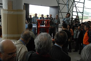 The first Sculpture arrives at the New Acropolis Museum   by elginism