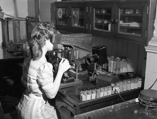 Working in Lab (MSA) | by MissouriStateArchives