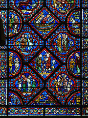 Thu, 04/28/2011 - 12:09 - Noah Window. Chartres Cathedral France 28/04/2011