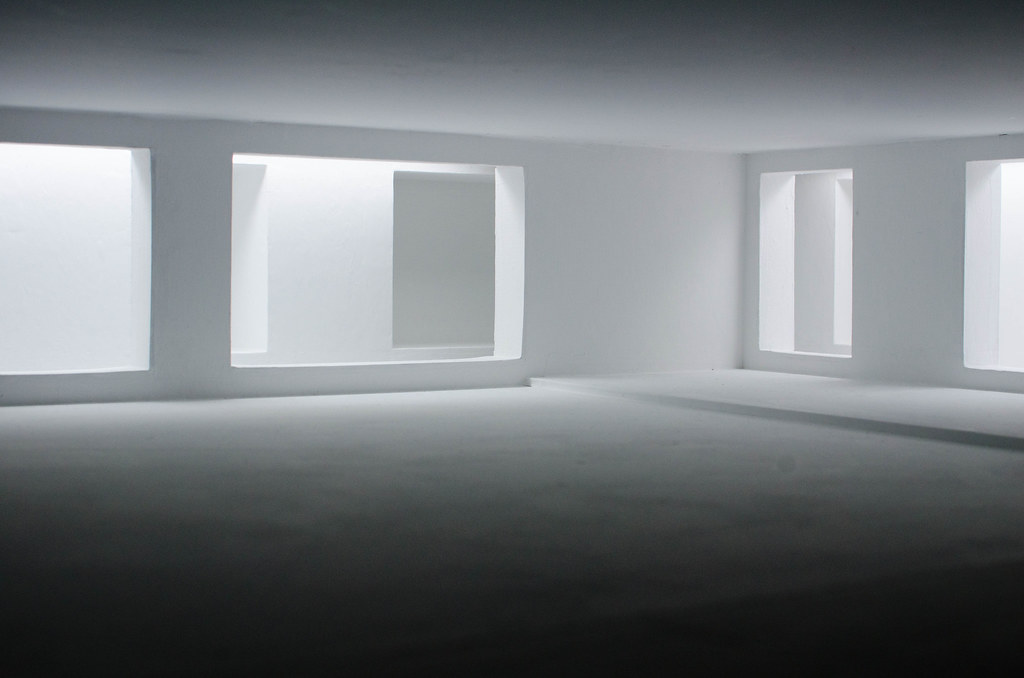 An Empty Room In Miniature This Is Part Of An Exhibit At