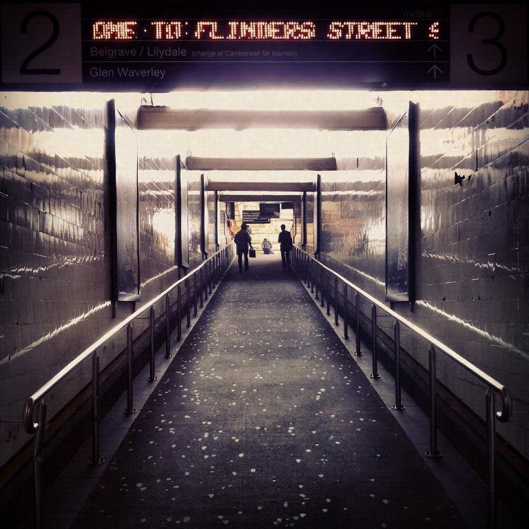 Flinders Street Subway by Jeffrey Grenfell