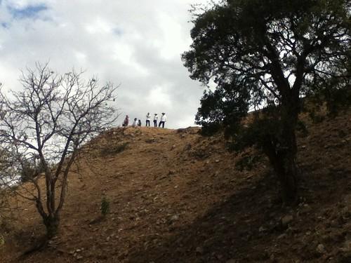 Friends on the Hill @ Monte Alban, Oaxaca 02.2012