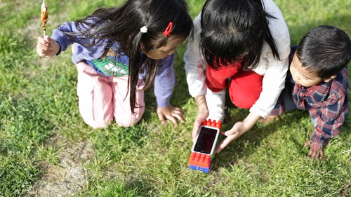 Playing Makego in the park