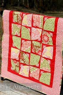 math quilt done