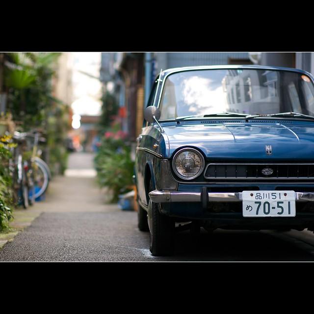 Old Subaru - Tsukishima