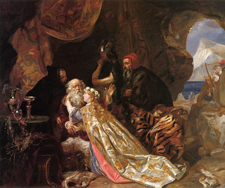 "Edward Matthew Ward (1816-1879), ""King Lear and Cordelia"" 