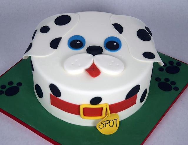 D7010 - designer dog cake toronto