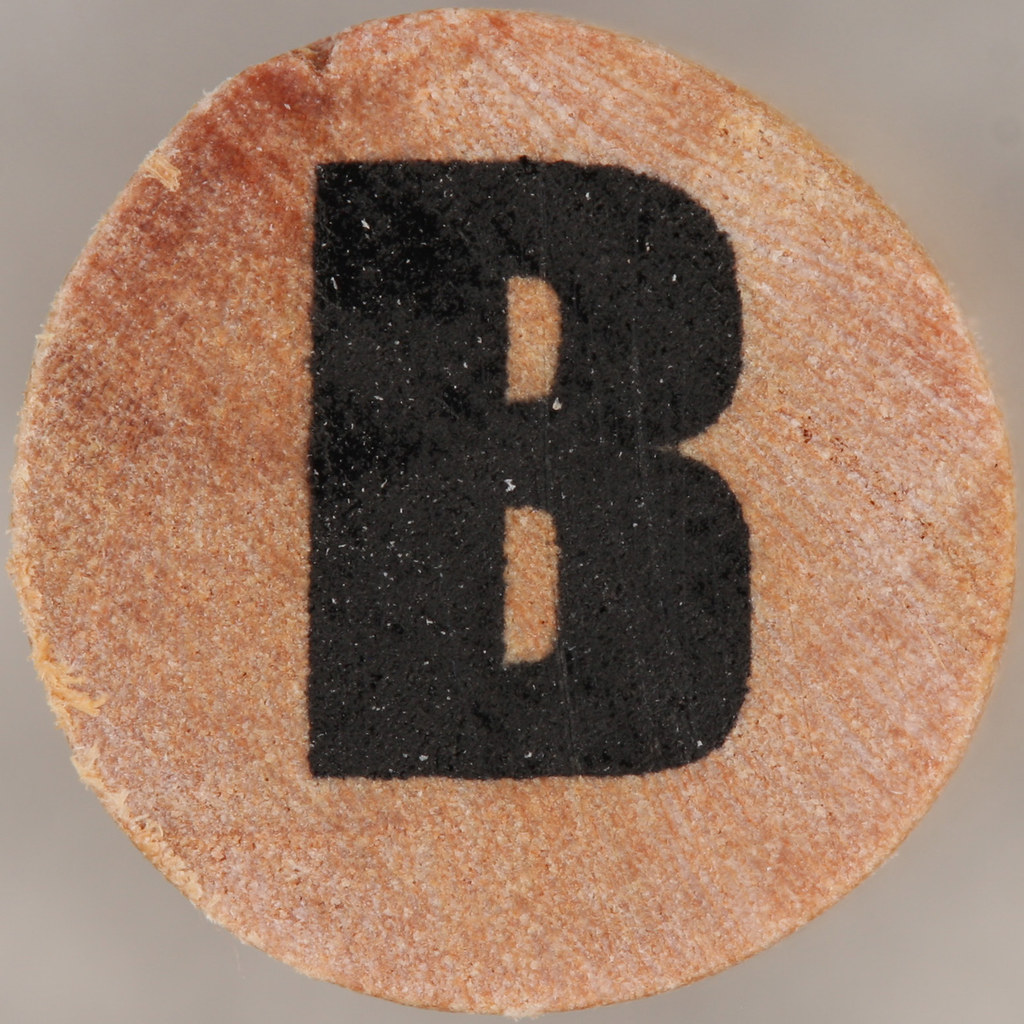 studio g Stamp Set Block Letter B | Leo Reynolds | Flickr