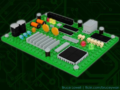 LEGO Circuit Board