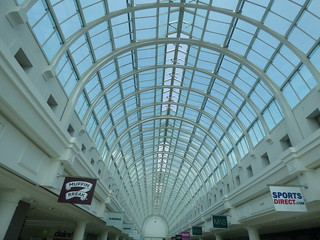 Royal Priors Shopping Centre - Leamington Spa - glass ceiling | by ell brown