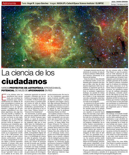 Zoco Astronomía: La Ciencia de los Ciudadanos | by Ángel López-Sánchez