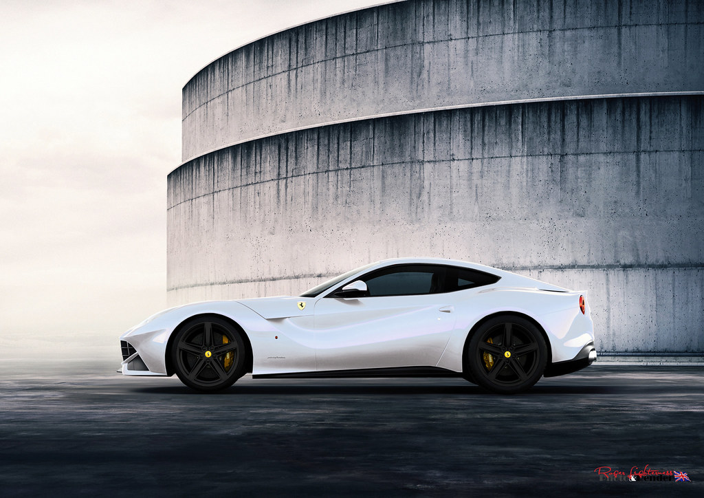 Ferrari F12 Berlinetta White Yellow Black Ferrari F12 Berl Flickr