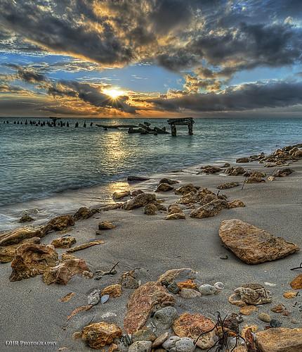 "ocean sunset sun seascape beach water colors clouds sand nikon rocks puertorico playa explore hdr msm caborojo 5xp ""nikonflickraward"" ""flickraward"" nikond300s ""flickraward5 ""flickrawardgallery"" puntaáguila"
