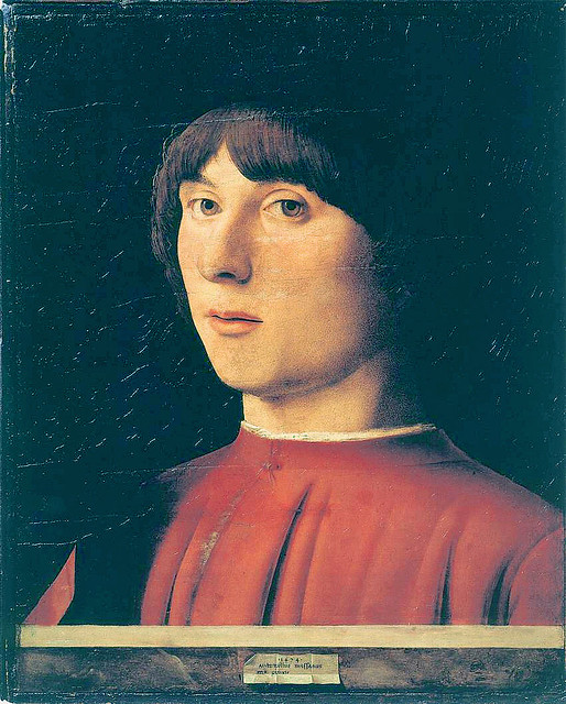 Antonello da Messina - Portrait of a man [1474]