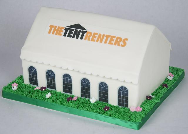 C2006 - wedding tent cake toronto
