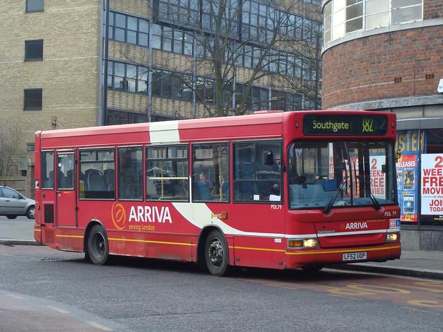 Arriva London PDL79 LF52UOP