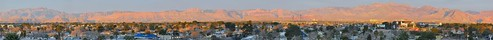 city morning urban panorama color sunrise big nikon long rooftops lasvegas nevada wide large panoramic redrocks february stitched 2012 d700