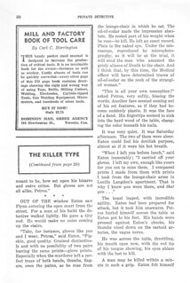 168a13 Private Detective Stories (Canada) Feb-1944 Page 80 The Killer Type 11 by William Decatur - Possibly E. Hoffmann Price Under a House Name