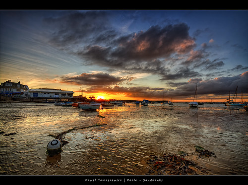 sunset wallpaper england sky colors beautiful clouds photoshop sunrise canon landscape boats eos europe angle image harbour wide picture wideangle ps dorset bournemouth hdr poole hdri waterscape iphone pawel ipad chmury photomatix eos400d 1200x800 tomaszewicz paweltomaszewicz